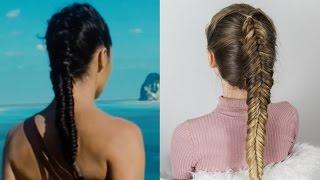 getlinkyoutube.com-WONDER WOMAN Inspired Hair - Dutch Fishtail Braid