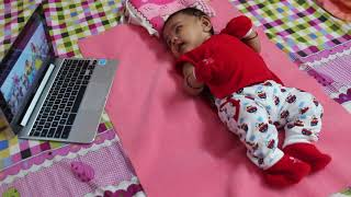 Vennila Thangachi Song - Baby Tayshika's Reaction