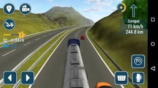 getlinkyoutube.com-(Truck simulation 16)Transportando leite de Lyon a Zurich