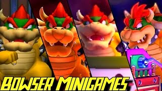 Evolution of Bowser Minigames in Mario Party (1998-2016)