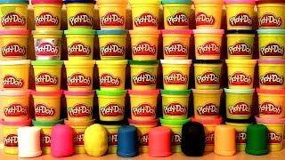 getlinkyoutube.com-50 Play Doh Surprise Eggs! Marvel Angry Birds Spiderman Avengers Monsters CARS Mickey SpongeBob