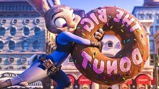 getlinkyoutube.com-Zootopia ALL Trailer & Clips (2016) Jason Bateman, Shakira Disney Movie HD