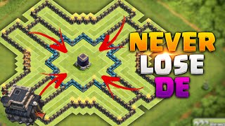 getlinkyoutube.com-Clash of Clans - NEVER LOSE DARK ELIXIR! HARDCORE TOWNHALL 9 FARMING BASE!