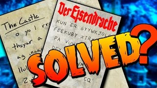 """Der Eisendrache FAMOUS Bell Tower CIPHER """"Might"""" Be SOLVED!!"""