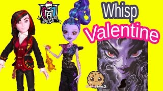 getlinkyoutube.com-Monster High Valentine & Whisp Villain 2 Doll Pack SDCC 2015 Exclusive Dolls Toy Review Cookieswirlc