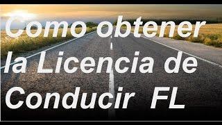 getlinkyoutube.com-Cómo sacar un permiso de conducir en la Florida. obtener la licencia de conducir