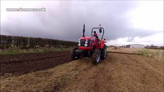 Siromer Equipment - Stone Burier with CH Range Tractor