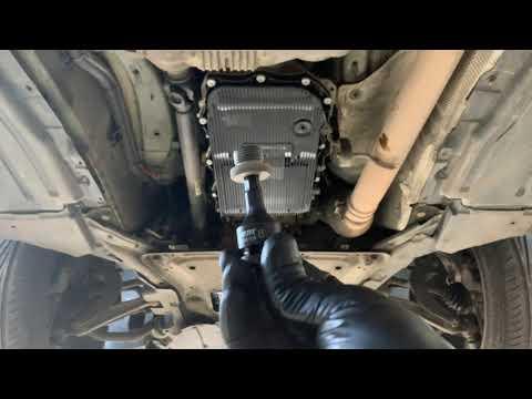 Замена масла в АКПП на BMW X5 E70