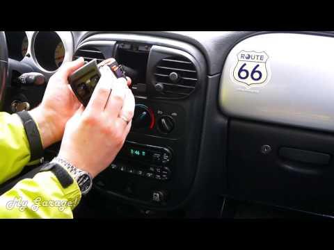 Автобудни. -01.  Снятие центральной консоли на Chrysler PT Cruiser 2000-2005 дорестайлинг.