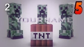 getlinkyoutube.com-TOP 10 Minecraft Intro Template #5 C4D+AE,SV + Free Download