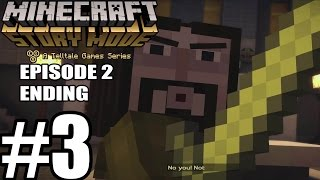 getlinkyoutube.com-Minecraft Story Mode Episode 2 ENDING - Gameplay Walkthrough Part 3 [ HD ] - No Commentary