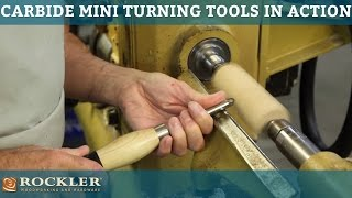 getlinkyoutube.com-Rockler Carbide Mini Turning Tools in Action