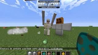 getlinkyoutube.com-Como hacer todo tipo de golems en minecraft