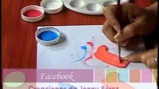 getlinkyoutube.com-Mimi Luna Creando Un Cotillon en Foamy Yenny Perez Parte 3