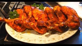 getlinkyoutube.com-Oven Roasted Juicy Moist Chicken Leg Quarters | Chicken Recipe