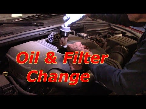 How To Change The Oil & Filter 2016 Dodge Durango