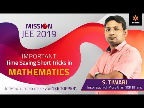 Short Tricks in Mathematics for JEE