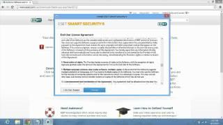 getlinkyoutube.com-How to install ESET Smart Security 6