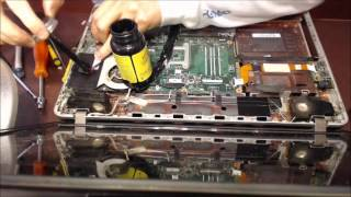 getlinkyoutube.com-Laptop Power Jack Repair replacement on Toshiba P875-s7200 socket input port connector prong repair