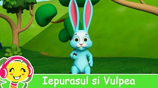 Iepurasul si Vulpea - Cantec pentru copii - CanteceGradinita.ro