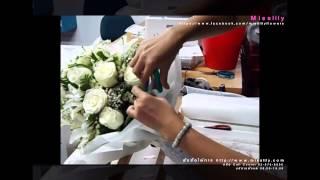 getlinkyoutube.com-Step By Step (Flower arranging of misslily)