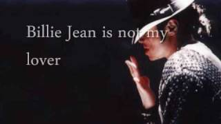 "getlinkyoutube.com-""Billie Jean"" by Michael Jackson w/ Lyrics"