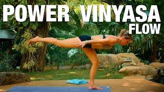 getlinkyoutube.com-Power Vinyasa Flow Yoga Class - Five Parks Yoga