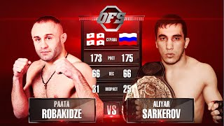 getlinkyoutube.com-OFS-8 Paata Robakidze vs Aliyar Sarkerov
