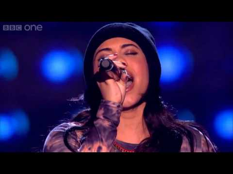 The Voice UK 2013 - Lovelle Hill performs 'Diamonds' Blind Auditions