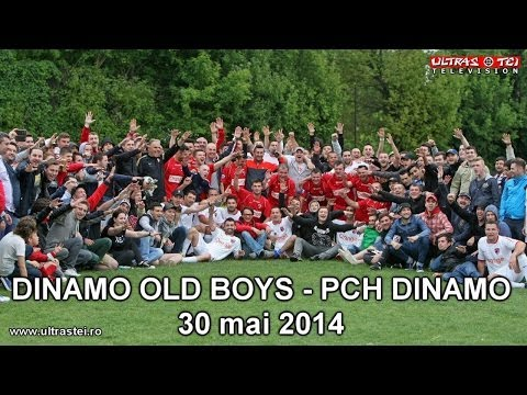 OLD BOYS DINAMO (legendele) vs. PCH DINAMO (suporterii) - amical - 30 mai 2014
