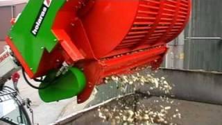 Holaras - Rüben reinigungs-/schneid trommel | Typ HIPPO 2000