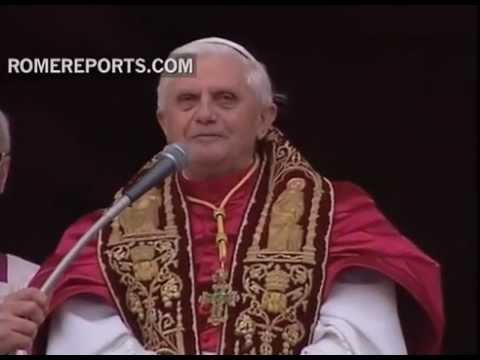 The election of Benedict XVI