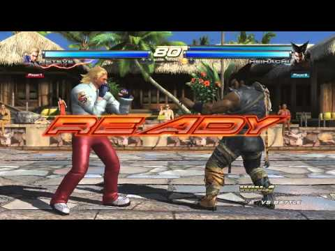 Tekken Tag Tournament 2 -- Alisa/Heihachi Costumes