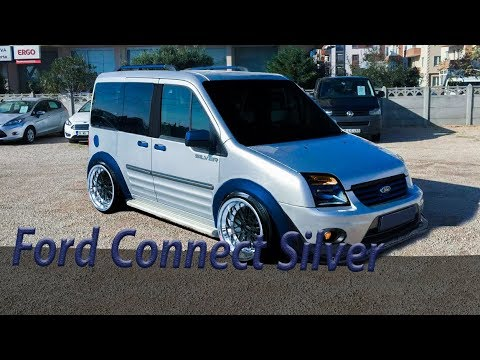 Ford Connect Silver Virtual Tuning #5