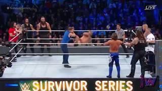 Team Raw vs Team SmackDown At Survivor Series 2016 Highlights