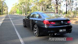 getlinkyoutube.com-BMW M6 Gran Coupe engine sound and 0-100km/h