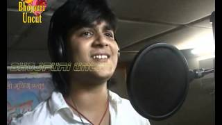 getlinkyoutube.com-Song recording & Mahurat of Bhojpuri film''Dil Bhail Deewana Tohra Pyaar Mein 3