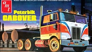 How to Build the Peterbilt Cabover Pacemaker 352 1:25 Scale AMT Model Kit #759 Review