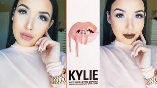 getlinkyoutube.com-KYLIE Lip Kit Swatches + Dupes! ♡ Amanda Ensing