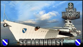 getlinkyoutube.com-World of Warships - Scharnhorst - Scharnhorst-Klasse - Vorschau [ deutsch | Gameplay ]