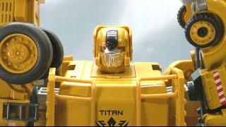 getlinkyoutube.com-CT19 重機合体 大力神  トランストラック TRANSTRUCK ENGINEERING