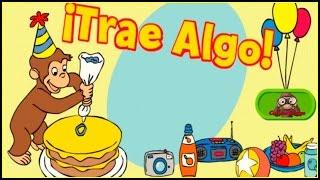 getlinkyoutube.com-♡ Curious George /Jorge el Curioso - Trae iAlgo Juego Educativo Para Los Niños Spanish / Español