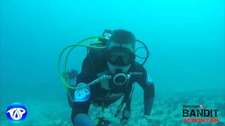 getlinkyoutube.com-TomTom Bandit Action Cam Diving