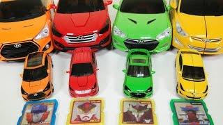 getlinkyoutube.com-카봇 에이스 프론 스카이 본 변신 장난감 놀이 Carbot transformation