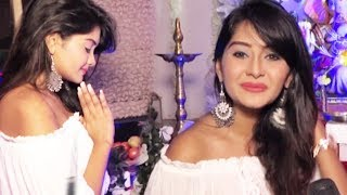 TV Actress Kanchi Singh Ganesh Chaturthi Pooja 2017