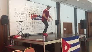 Hajnal Gyula - Salsa/Timba man-style @ ¡Gusto Cubano! 2018-jul