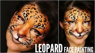 Easy Leopard — Makeup & Face Painting Tutorial