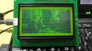 ChibiMo: Arduino + KS0108 graphics LCD = USB Monitor