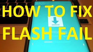 ✅ How to FIX Flash FAIL for Samsung Galaxy S6 / S7 Edge Odin 3 firmware / hidden.img error