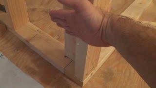 getlinkyoutube.com-How to Frame a Wall Corner